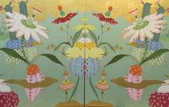 Nacimiento Alegría - 21st Century, Contemporary, Figurative Painting, Japanese
