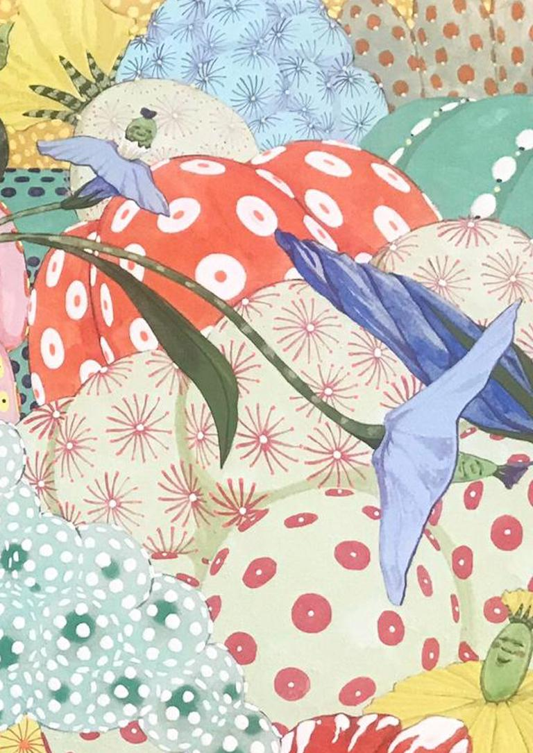 Ritmo de alegria - 21st Century, Contemporary, Figurative Painting, Japanese Art For Sale 1