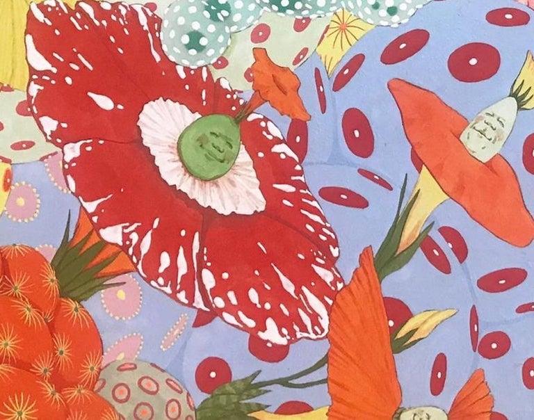 Ritmo de alegria - 21st Century, Contemporary, Figurative Painting, Japanese Art For Sale 3