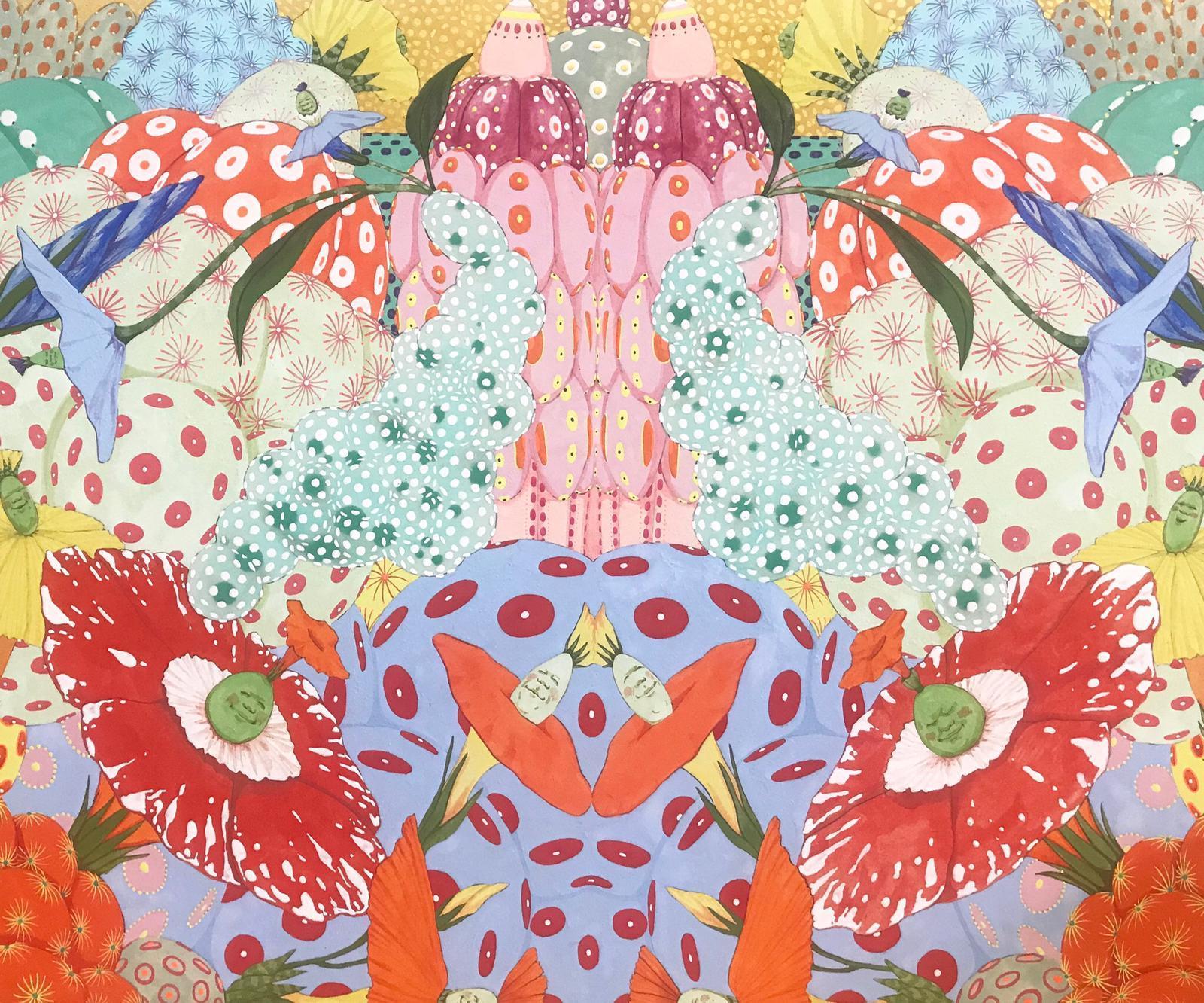 Ritmo de alegria - 21st Century, Contemporary, Figurative Painting, Japanese Art