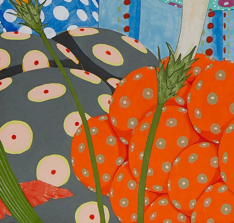 Ritmo De Alegría II - 21st Century, Contemporary, Figurative Painting, Japanese For Sale 3