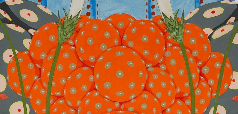 Ritmo De Alegría II - 21st Century, Contemporary, Figurative Painting, Japanese For Sale 4