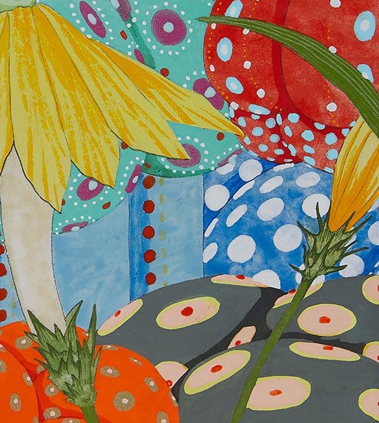 Ritmo De Alegría II - 21st Century, Contemporary, Figurative Painting, Japanese For Sale 5