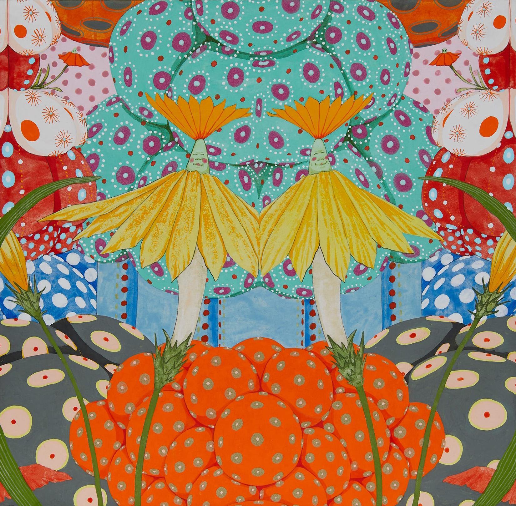 Ritmo De Alegría II - 21st Century, Contemporary, Figurative Painting, Japanese