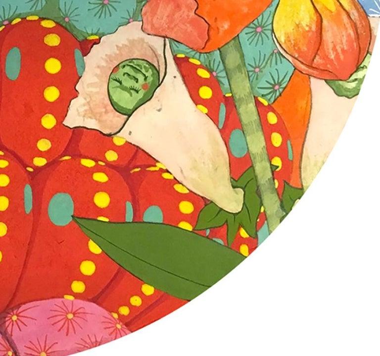 Ritmo Feliz #2 - 21st Century, Contemporary, Figurative Painting, Japanese Art For Sale 2