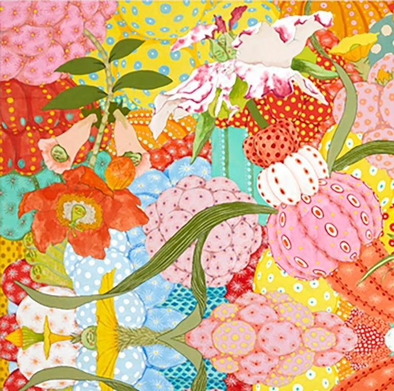 Ritmo Feliz - 21st Century, Contemporary, Figurative Painting, Japanese Art For Sale 2