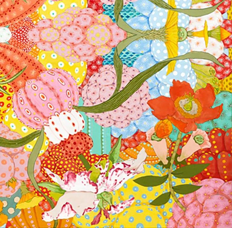 Ritmo Feliz - 21st Century, Contemporary, Figurative Painting, Japanese Art For Sale 3