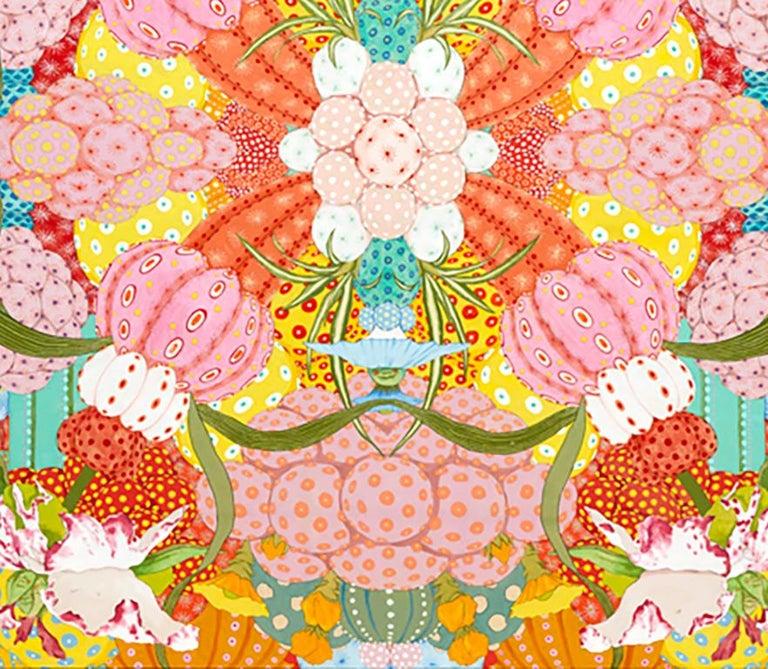 Ritmo Feliz - 21st Century, Contemporary, Figurative Painting, Japanese Art For Sale 4