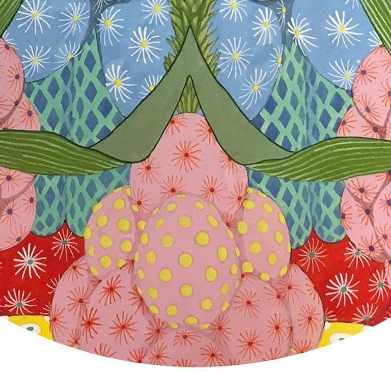 Ritmo Feliz #3 - 21st Century, Contemporary, Figurative Painting, Japanese Art For Sale 2