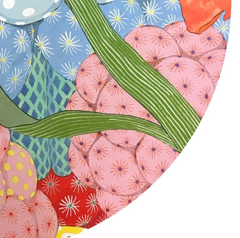 Ritmo Feliz #3 - 21st Century, Contemporary, Figurative Painting, Japanese Art For Sale 4