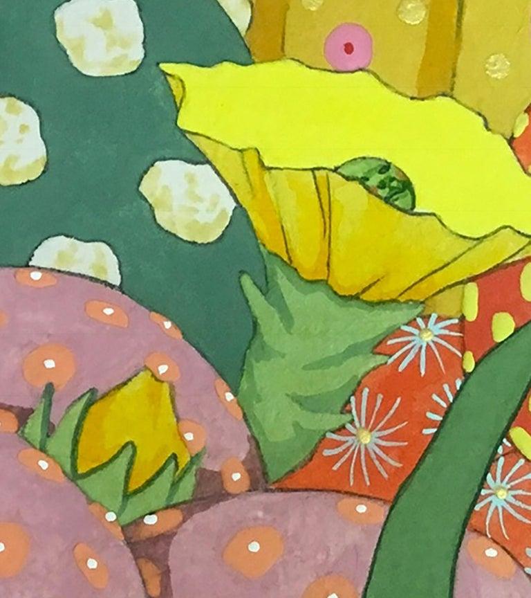 Ritmo Feliz #4 - 21st Century, Contemporary, Figurative Painting, Japanese Art For Sale 4