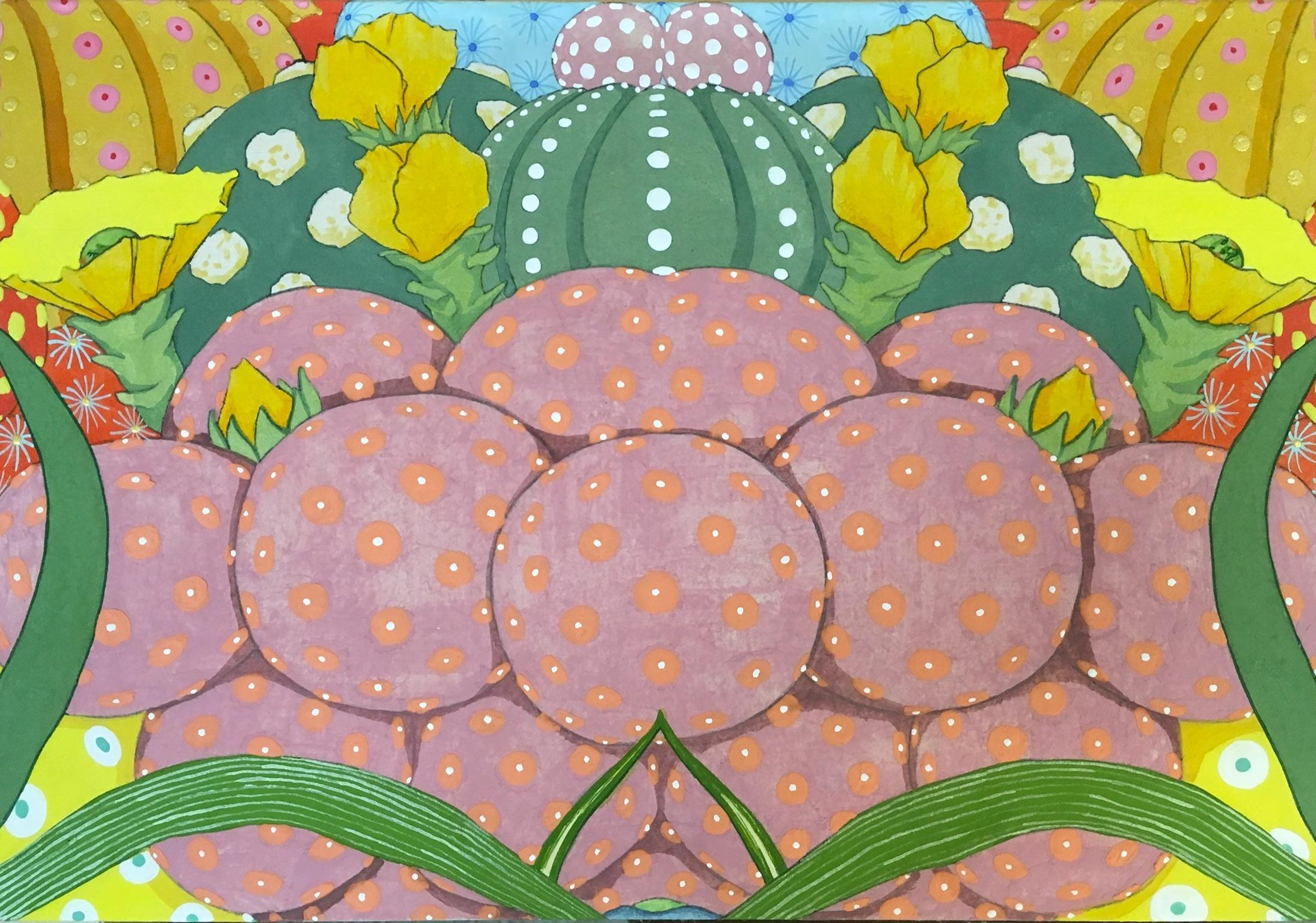 Ritmo Feliz #4 - 21st Century, Contemporary, Figurative Painting, Japanese Art