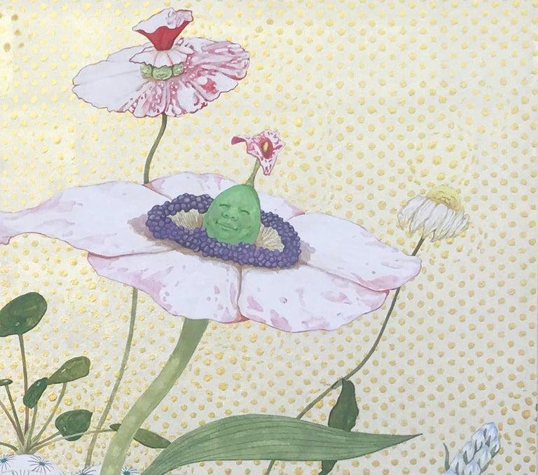 Tiempo de Paz - 21st Century, Contemporary, Figurative Painting, Japanese Art For Sale 3