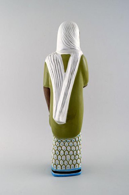 Scandinavian Modern Mari Simmulson Figure, Ceramics, Upsala-Ekeby, Indonesian Woman For Sale