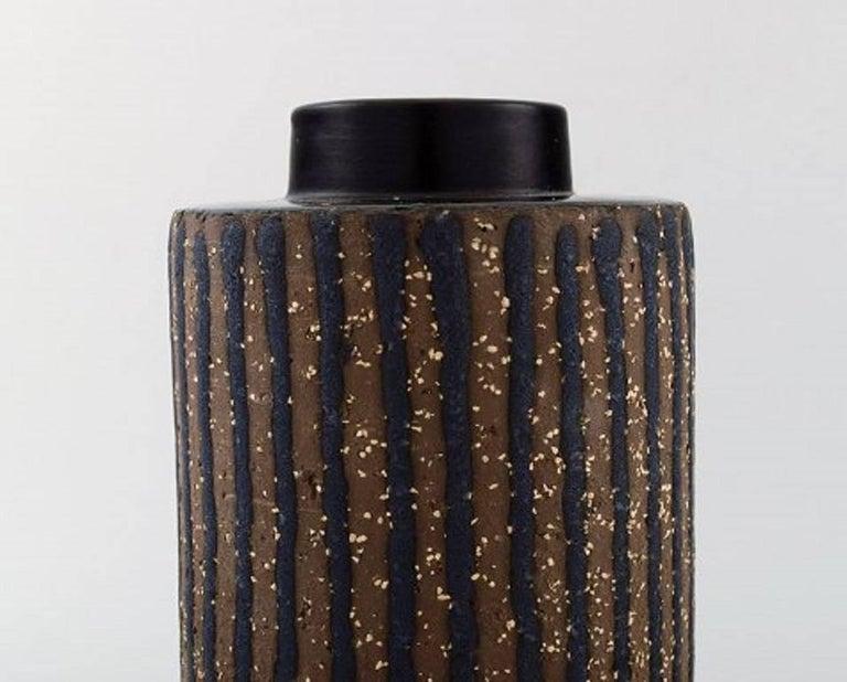 Scandinavian Modern Mari Simmulson for Upsala-Ekeby Ceramic Vase, 1960s For Sale