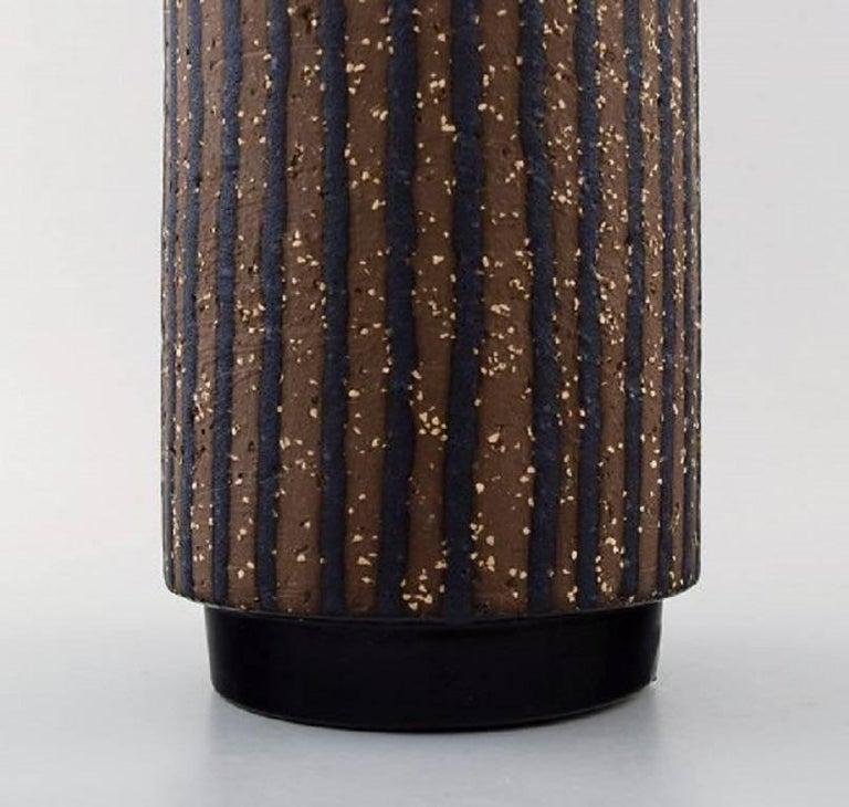 Swedish Mari Simmulson for Upsala-Ekeby Ceramic Vase, 1960s For Sale