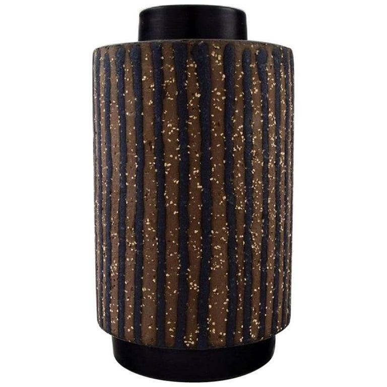 Mari Simmulson for Upsala-Ekeby Ceramic Vase, 1960s For Sale