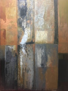 """ Colors "" original abstract mixed media painting"
