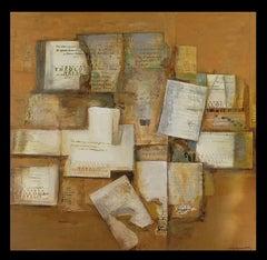 """""""Indice de frecuencia"""" original expressionist canvas acrylic painting"""