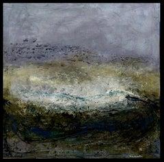 """PAISAJE"" original abstract mixed media painting"