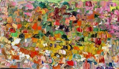 """""""Rhythm Of The Day"""" Contemporary Impressionist Abstract Oil Painting"""