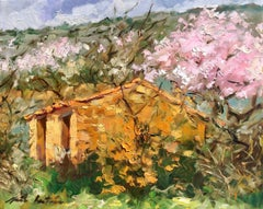 """""""Spring Cabanon""""  Modern Impressionist Oil Painting of Provence"""