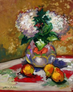 """The Mexican Vase"" Contemporary Impressionist Still Life"