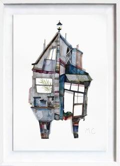 Hong Kong Countryside - Original Watercolor Artwork (Framed)