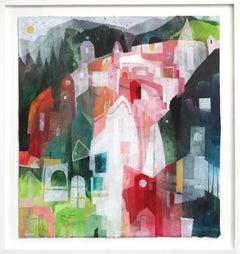 Into The Woods - Original Canvas Artwork (Framed)