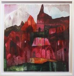 Red Canyon - Original Canvas Artwork (Framed)