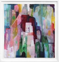 True Colors - Framed Colorful Original Artwork on Canvas