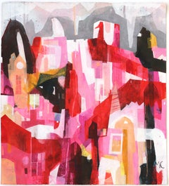 Valentine - Original Raw Canvas Artwork