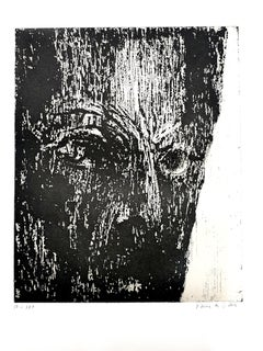 Maria Elena Vieira da Silva - The Man - Original Handsigned Etching