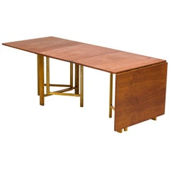 """Maria Flap"" Dining Table by Bruno Mathsson, Firma Karl Mathsson, Sweden, 1930s"