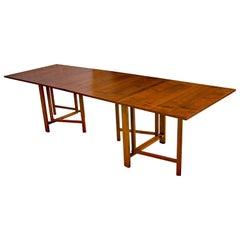 Maria Gate-Leg Teak Table by Bruno Mathsson