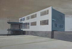 Breuer - Modern Architectural Painting, Modernism Painting, Architecture Art