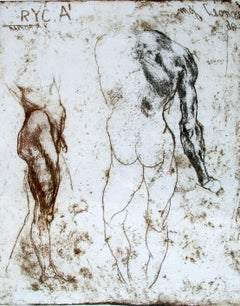 Note from the British Museum Contemporary Figurative print Old masters inspired
