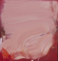 Maria Pierides, Nude Lipstick 2, Original Abstract Painting, Affordable Art