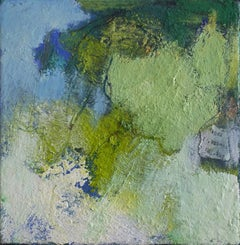 Maria Pierides, Sound of the Wind, Affordable Abstract Painting, Mixed Media Art