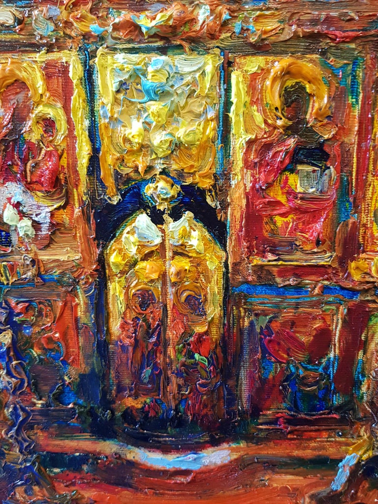 Easter - Impressionist Painting by Maria Raycheva