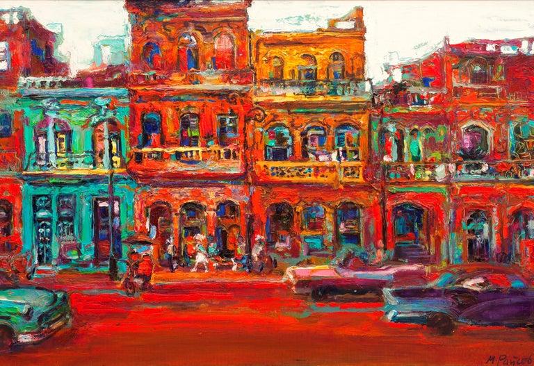 Maria Raycheva Landscape Painting - El Malekon