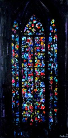 La Notre Dame De Paris Vitrage - Left