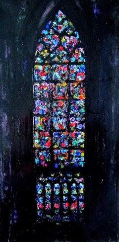 La Notre Dame De Paris Vitrage - Right