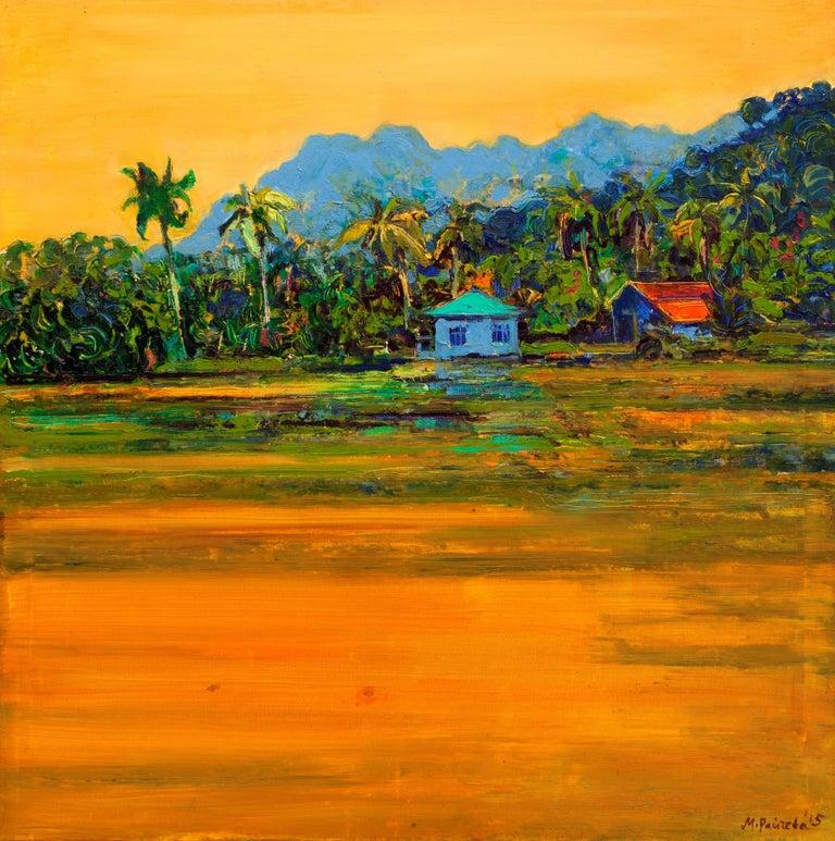 Maria Raycheva Landscape Painting - Malaysia