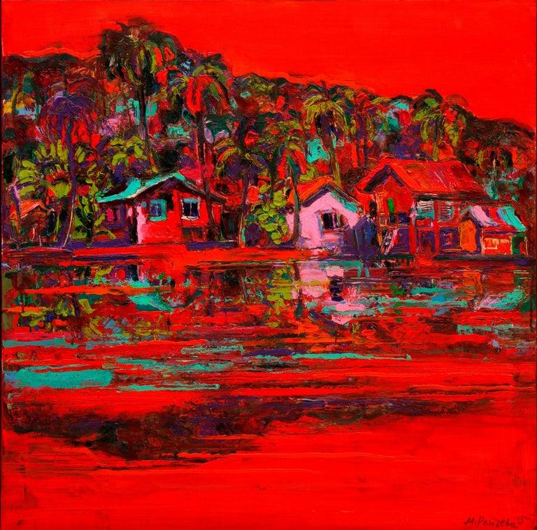 Maria Raycheva Landscape Painting - Malaysia III