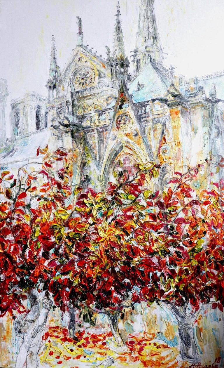 Maria Raycheva Landscape Painting - Notre Dame De Paris