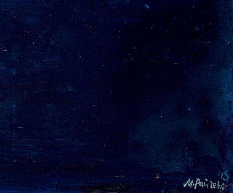 Santorini Island - Painting by Maria Raycheva
