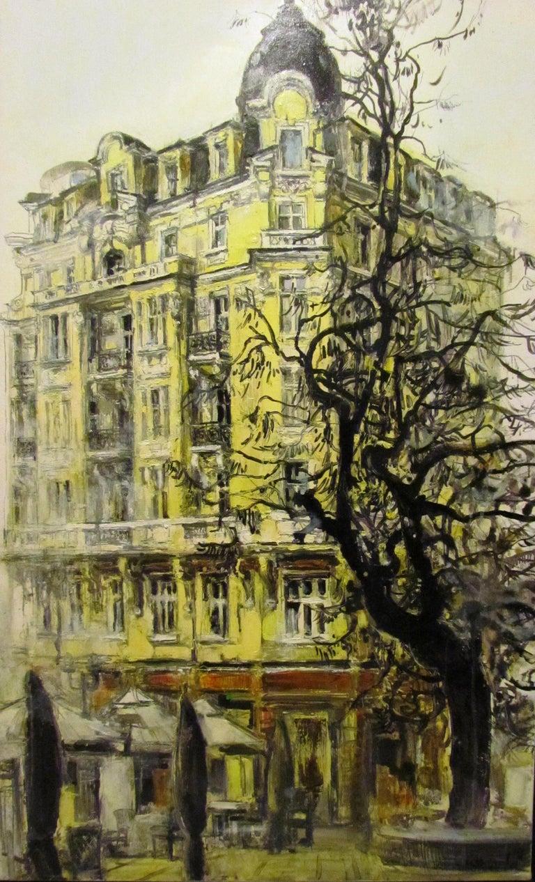 Maria Raycheva Landscape Painting - Sofia II
