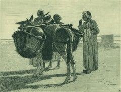 Melonen-kaufer (Melon Seller).
