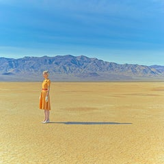 Lost in the Valley I-35 x 35 inches landscape color photograph by Maria Svarbova